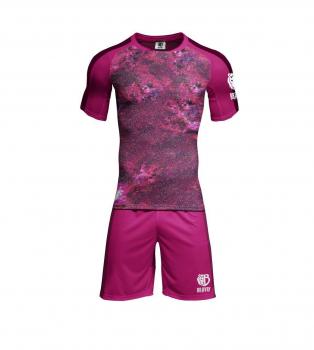 Комплект формы Bravry Galaxy Rose (шорты+ футболка)