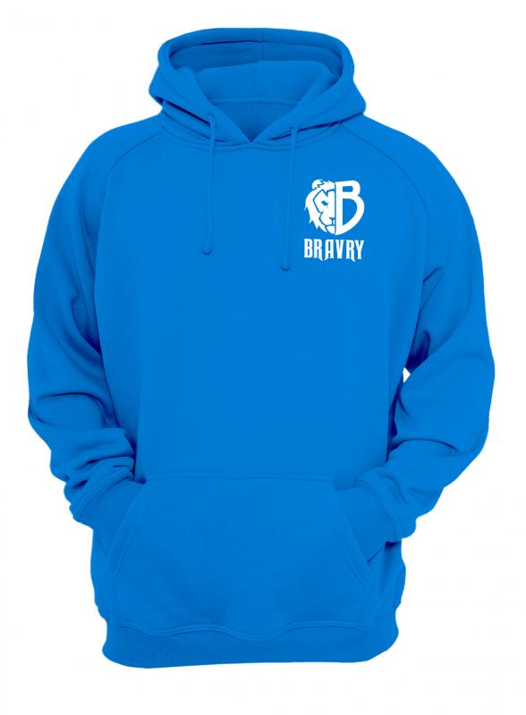 Худи (Капюшонка) Bravry Motion Blue