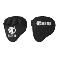 Перчатки для турника, штанги и снарядов BRAVRY