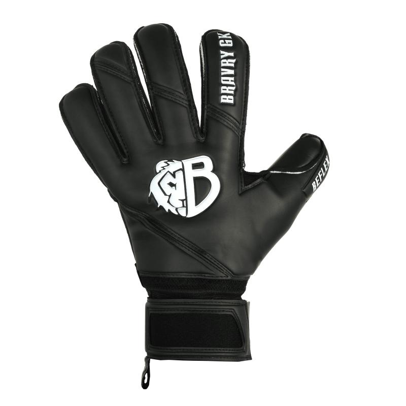 Детские вратарские перчатки Bravry Reflex Rollfinger Black