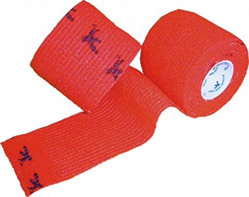 Premier Sock Tape Red  5 cm Тейпы  для защиты  пальцев - 5 см х 4,5 м в рулоне