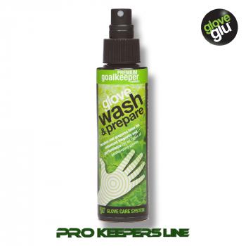 Cредство для мытья и ухода за вратарскими перчатками  GLOVEGLU PREMIUM GLOVE WASH & PREPARE (250ml)