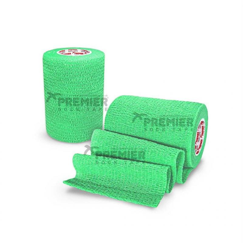 Premier Sock Tape Lime Green  7.5 cm Тейпы  для защиты  запястья - 7,5 см х 4,5 м в рулоне
