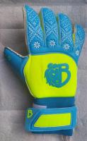 Вратарские перчатки Bravry Strong Blue/Yellow