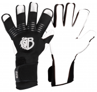 Вратарские перчатки Bravry Catalyst F.M.  White/Black