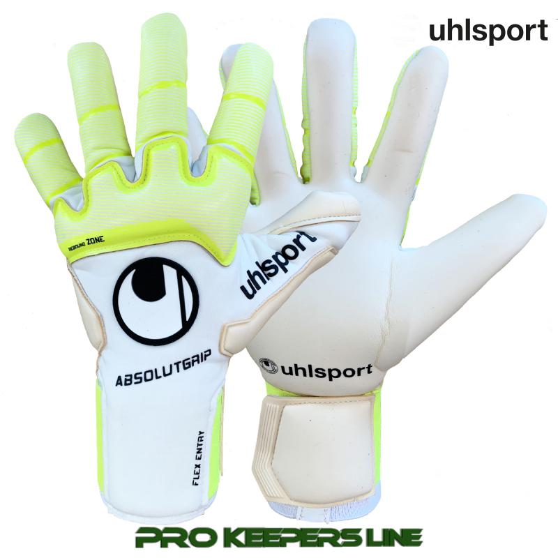 Вратарские перчатки UHLSPORT PURE ALLIANCE ABSOLUTGRIP HN (NEGATIVE CUT)