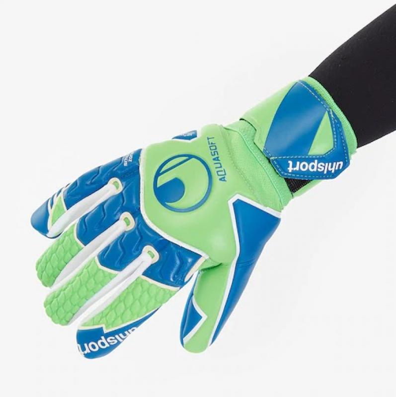 Вратарские перчатки UHLSPORT AQUASOFT HN (NEGATIVE CUT)