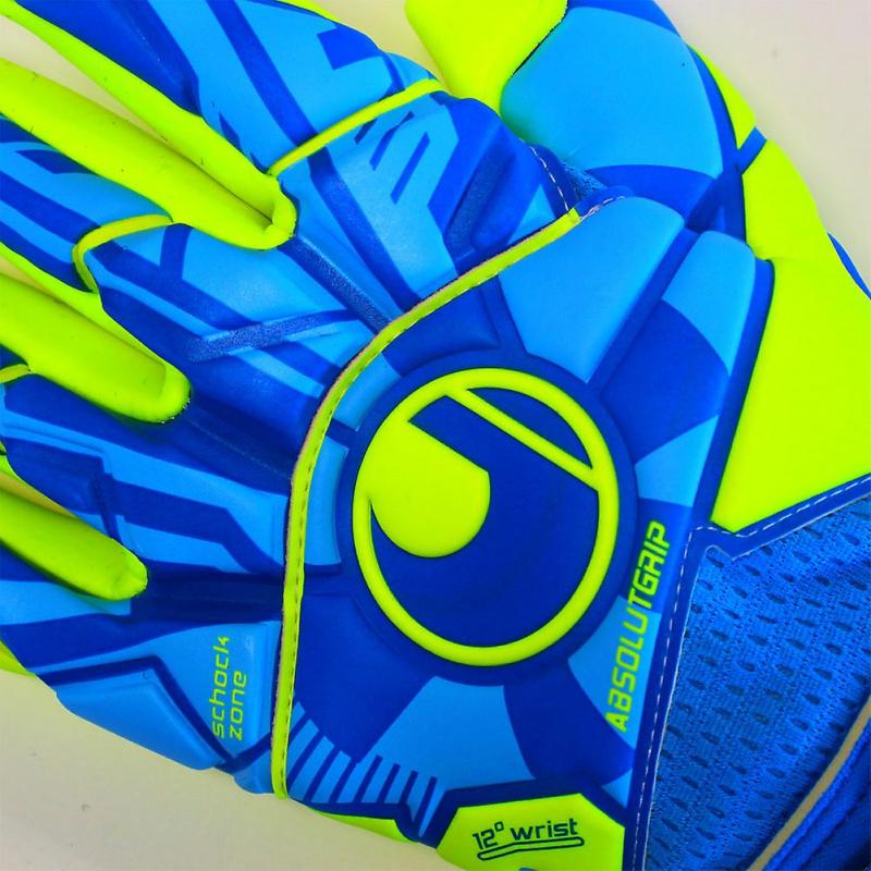 Вратарские перчатки UHLSPORT RADAR CONTROL ABSOLUTGRIP FINGER SURROUND